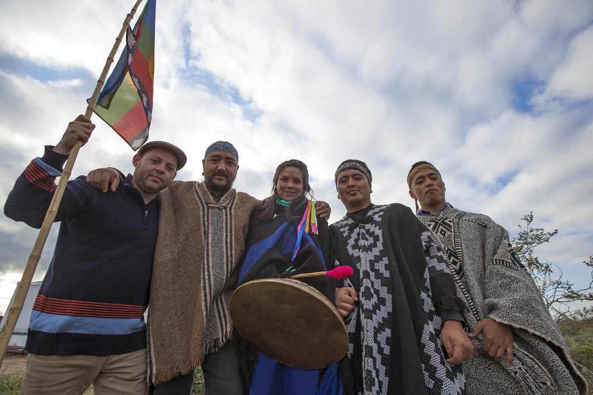Puel Kona, banda de música mapuche.