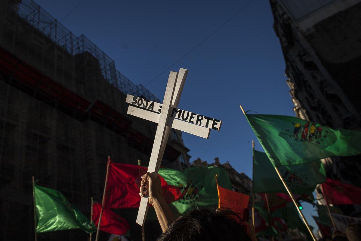 Protesta de organizaciones sociales - Ciudad de Buenos Aires