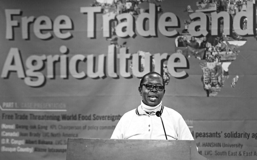 """""""La agroecología permite acabar con el hambre y erradicar la pobreza"""""""