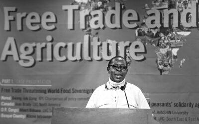 «La agroecología permite acabar con el hambre y erradicar la pobreza»