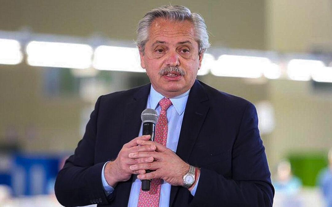 Alberto Fernández: «Tenemos que hacer un plan para darle tierras fiscales a los que quieran trabajarlas»