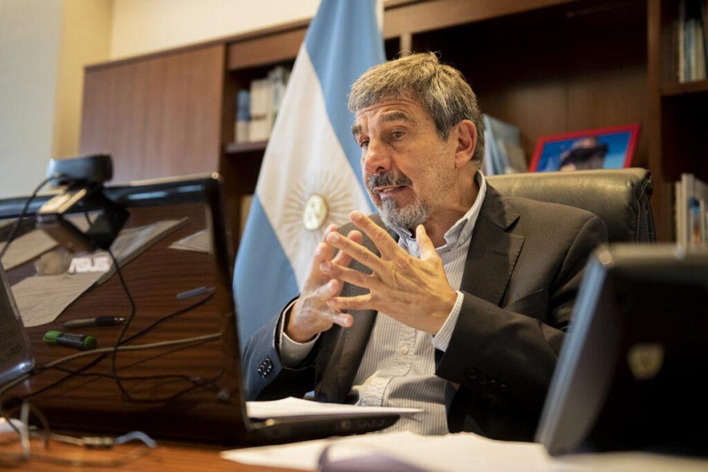 Roberto Salvarezza. Ministro de Ciencia, Tecnología e Innovación de la Nación