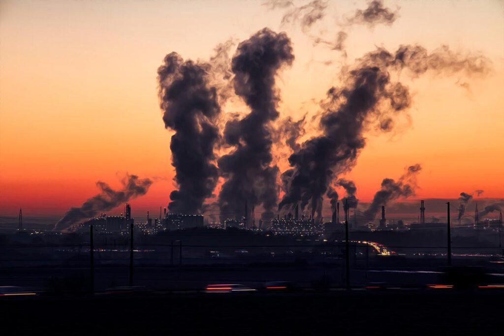 Contaminación en la ciudades