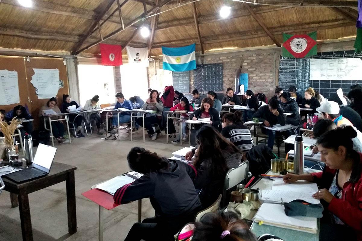 Cierre de la Escuela Campesina Agroecológica en Mendoza