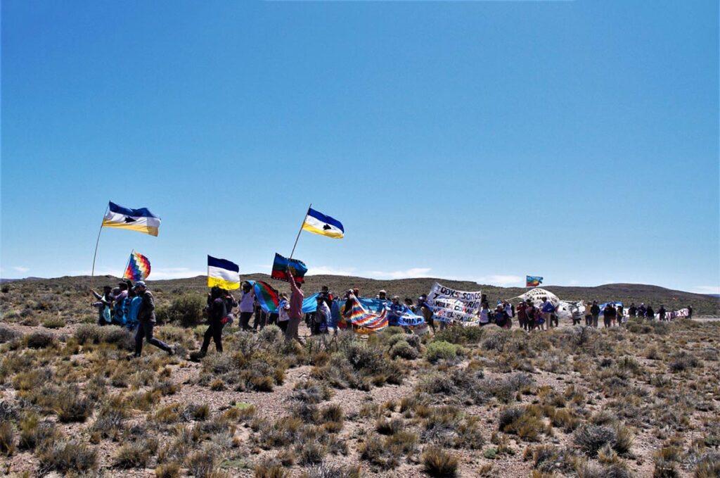 Las comunidades indígenas de la meseta rechazan el proyecto de zonificación (Chubut)