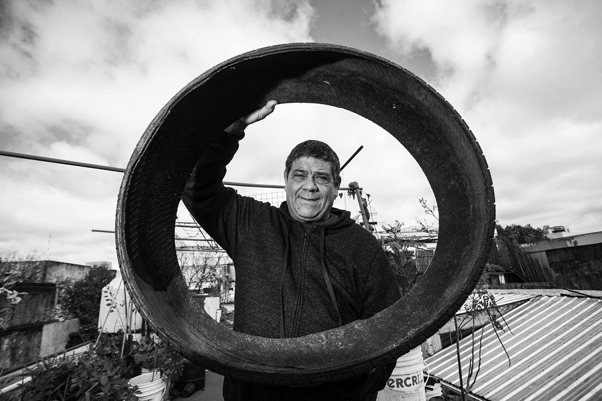 Carlos Briganti, el reciclador urbano