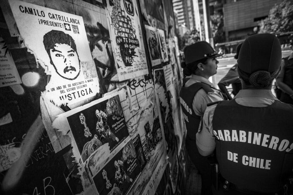 Un policía es condenado por el asesinato de Camilo Catrillanca