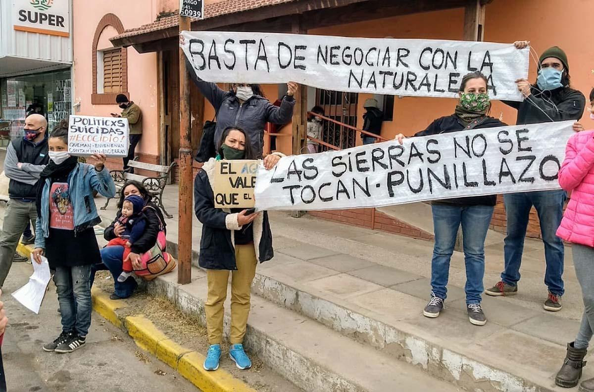 Vecinos de Bialet Massé rechazan la construcción de una autovía