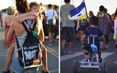 Chubut: la Justicia suspendió el tratamiento de la zonificación minera en medio de masivas movilizaciones