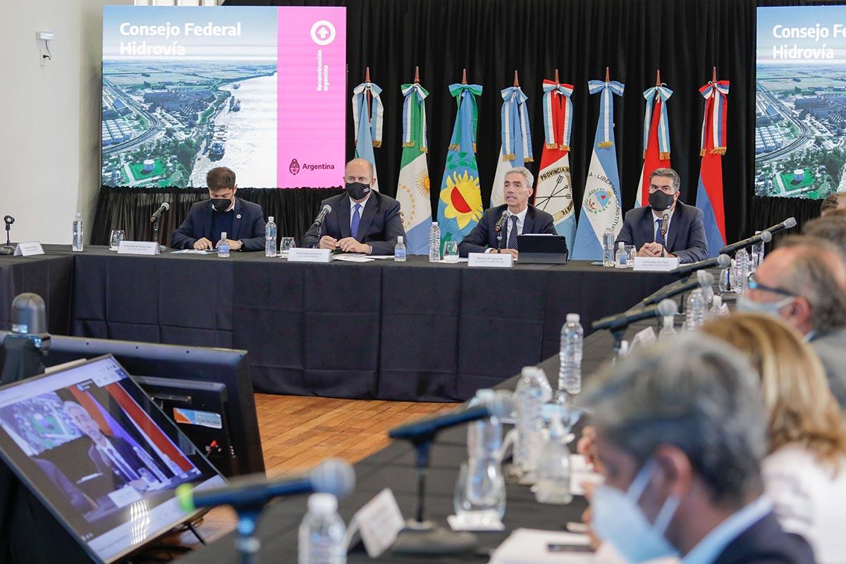 El Consejo Federal en la ciudad de Rosario su primera reunión plenaria, ocasión en la que brindará un informe de gestión sobre el estado de la concesión de la Hidrovía Paraguay-Paraná.