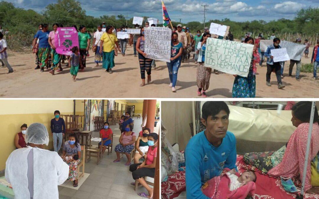 Reclaman que el INAI se pronuncie por la situación del pueblo wichí en Formosa