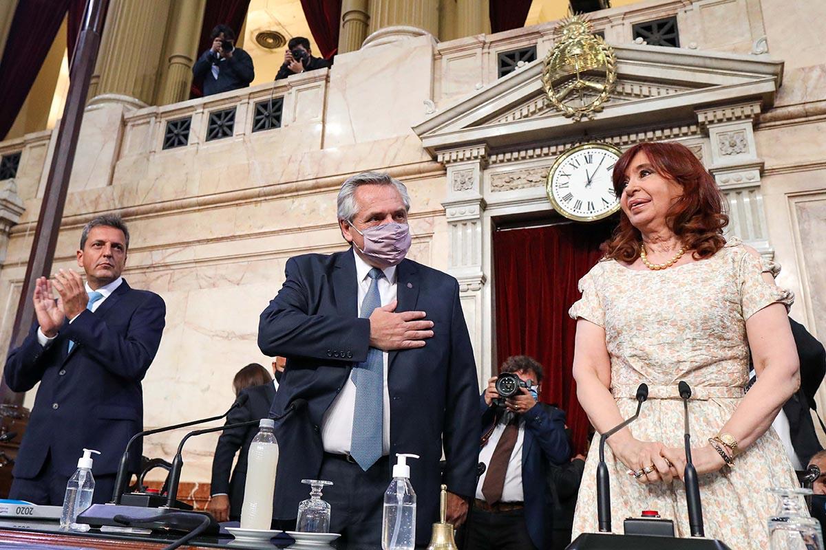 Apertura de sesiones ordinarias del Congreso 2021