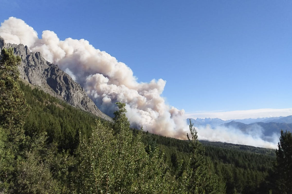 Incendios En Chubut 09 de Marzo 2021