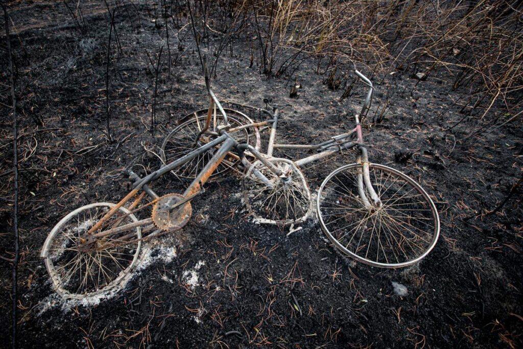 Incendios en El Hoyo