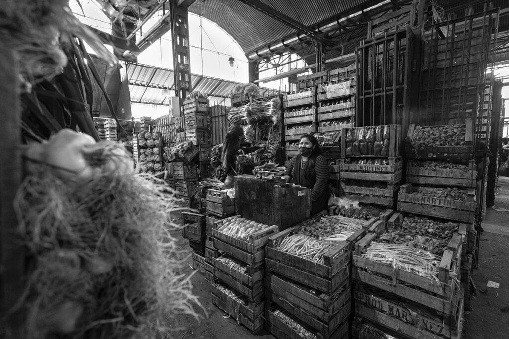 Trabajadoras del Mercado Central