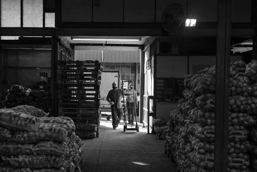 Trabajadores del Mercado Central