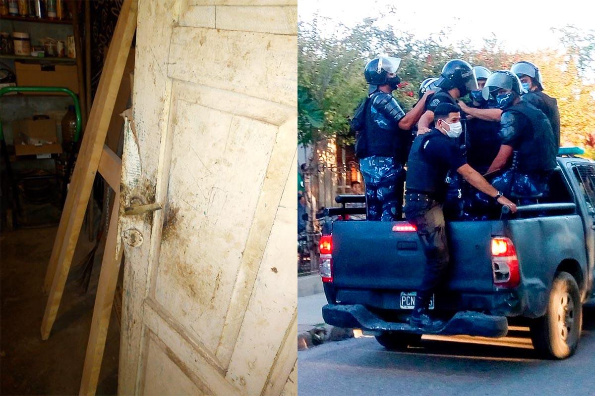 Allanamientos y detenciones en Andalgalá