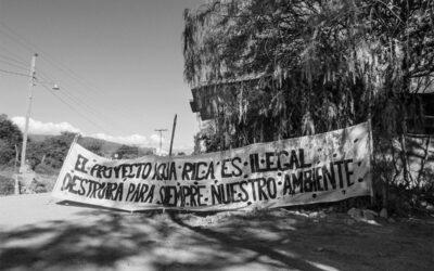 Andalgalá: una ciudad violentada por defender el agua