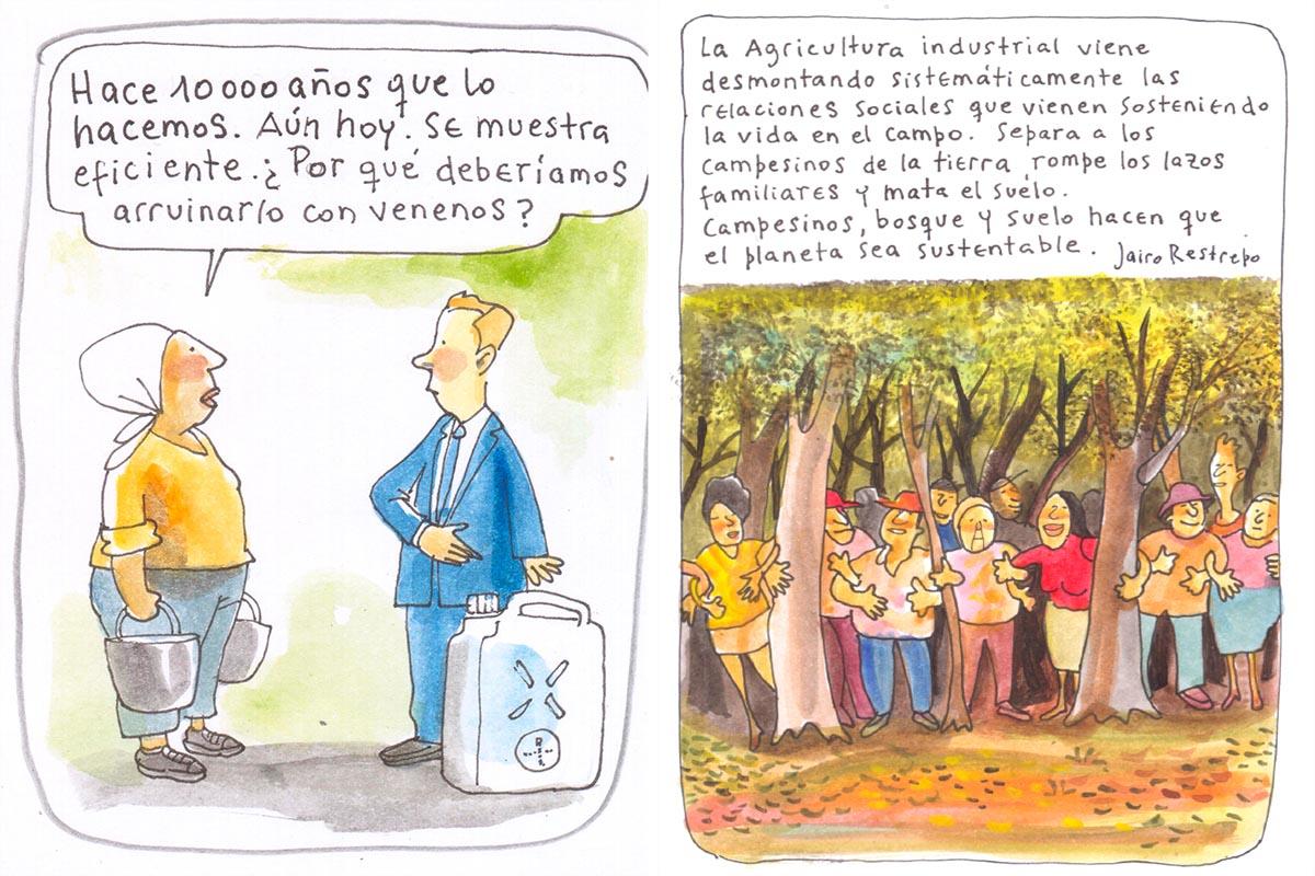 La agricultura orgánica en píldoras