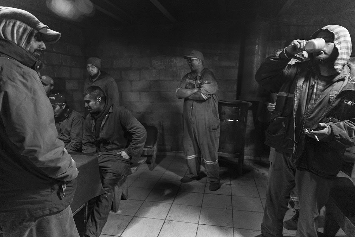 Mineros del carbón