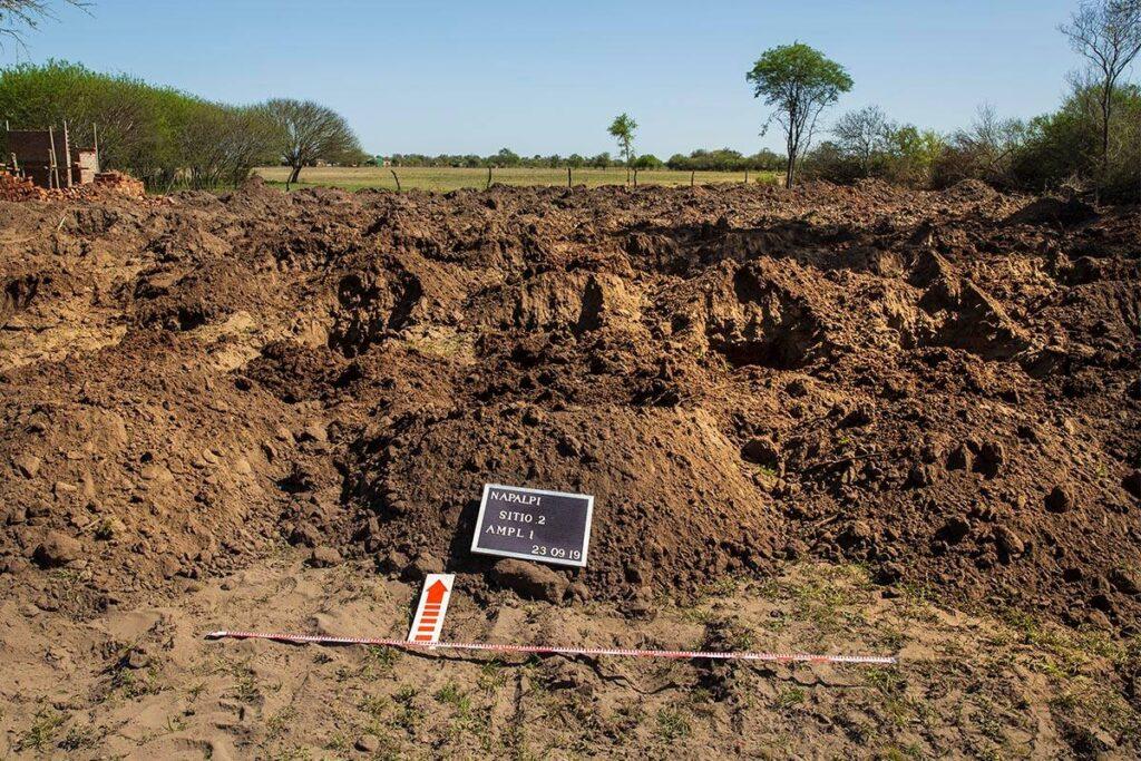 Excavacioes en Napalpí, Chaco