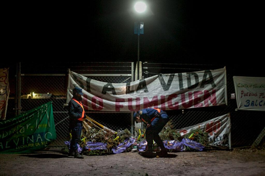Informe preleminar por las fumigaciones en la provincia de Buenos Aires