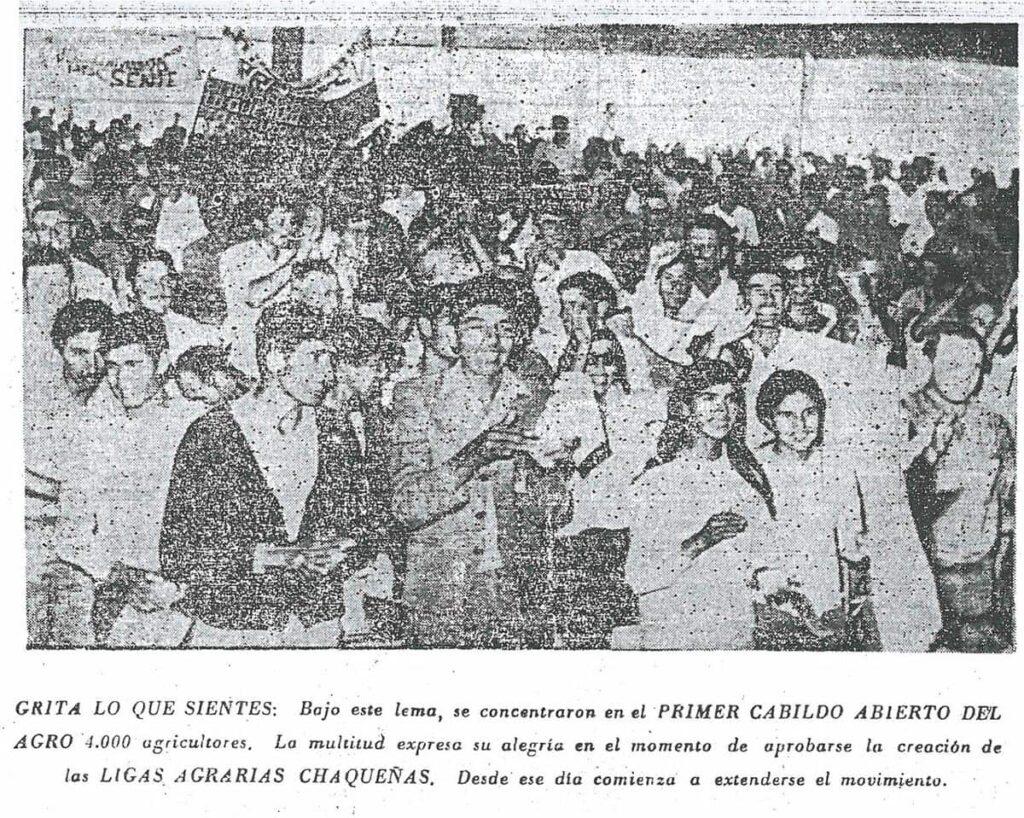 Las ligas agrarias en la dictadura militar.
