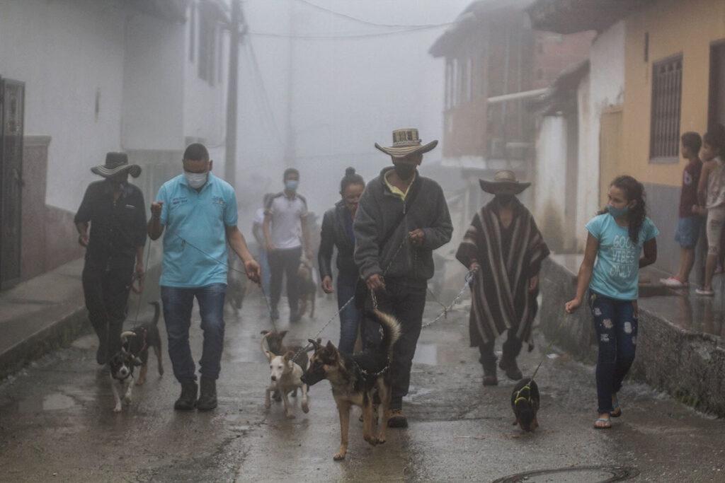 Desplazamiento en Ituango - Colombia