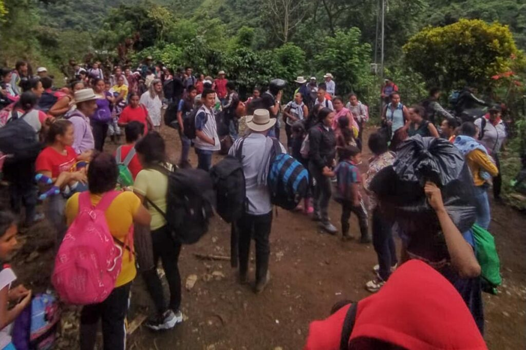 Despazamientos en Ituango Colombia
