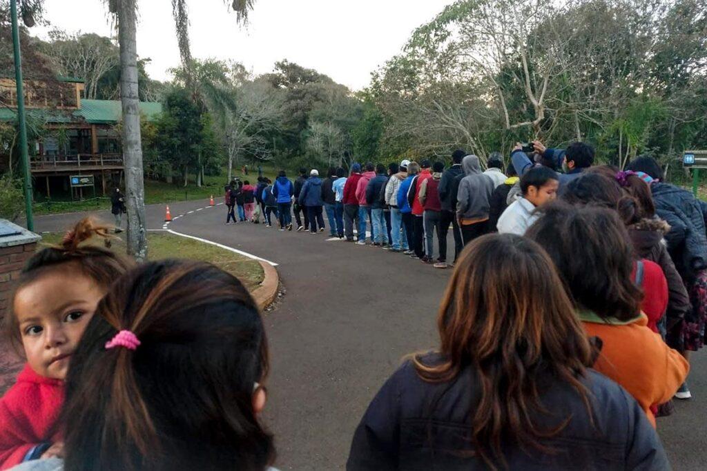 Reclamo apertura del Sendero para acceso Lote 8 de Mbya Guaraní