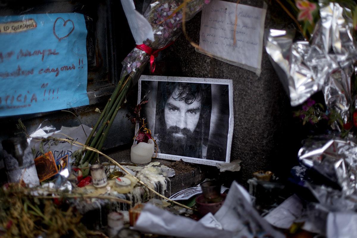 Cuatro años de la desaparición de Santiago Maldonado