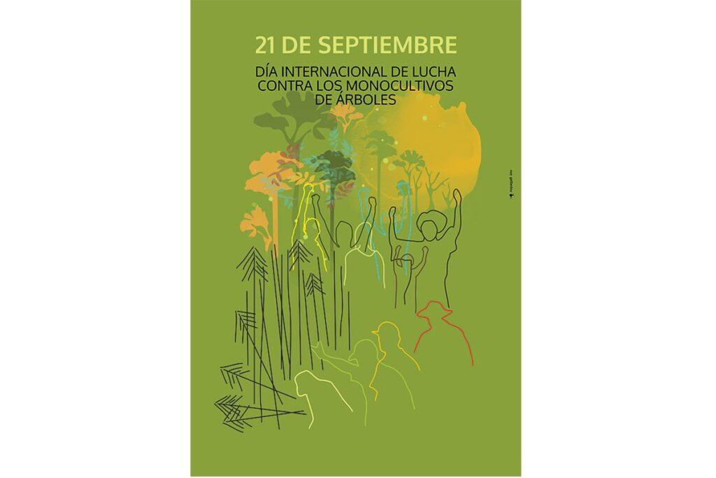 21 de septiembre, día internacional de la lucha contra los monocultivos de árboles