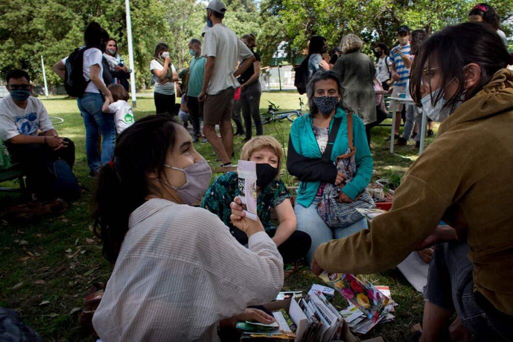 Huertas comunitarias en la ciudad de Buenos Aires