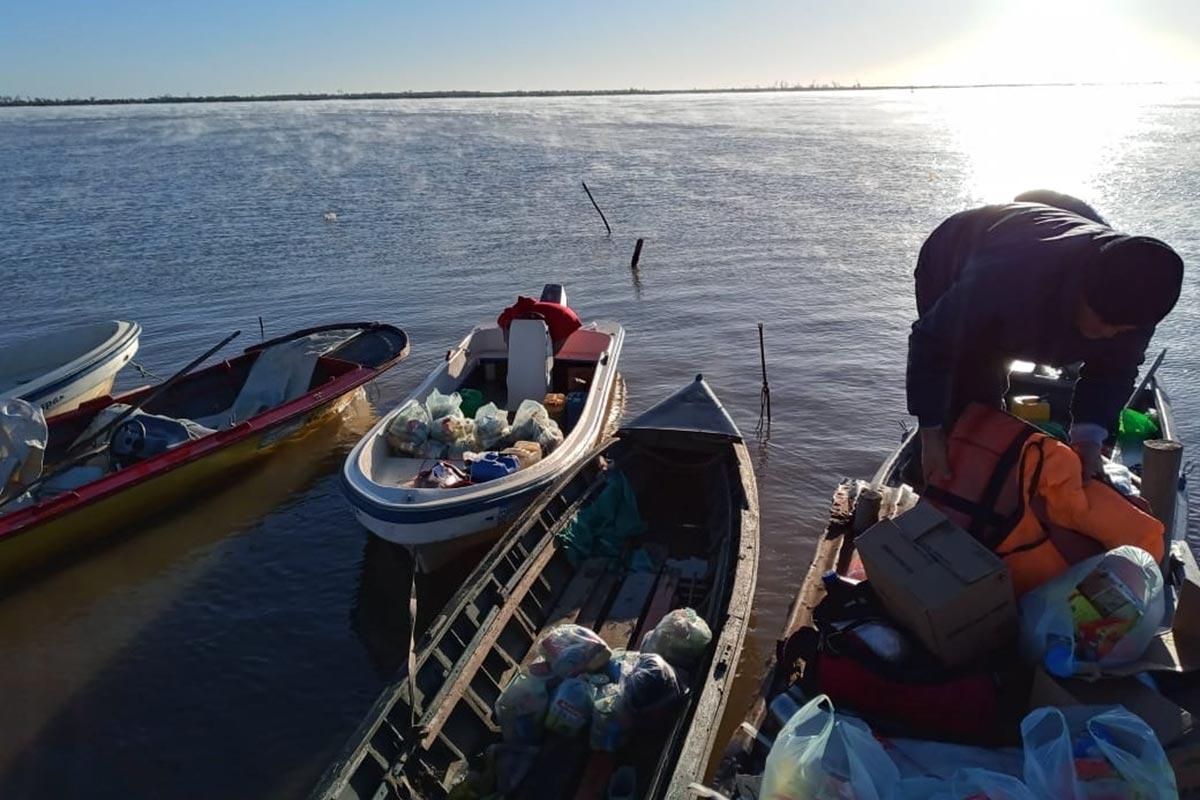 Primer plenario interprovincial del pescador artesanal del Paraná