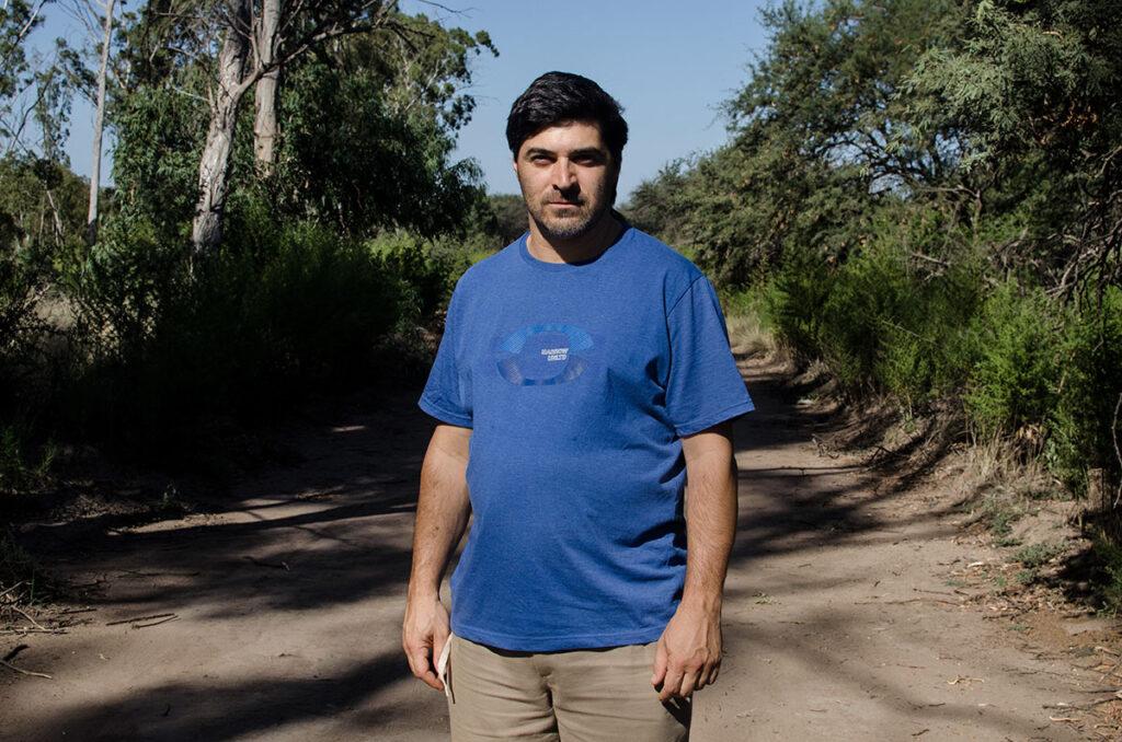 Retrato de Carlos Anzorena - Experiencias agroecologicas en La Pampa