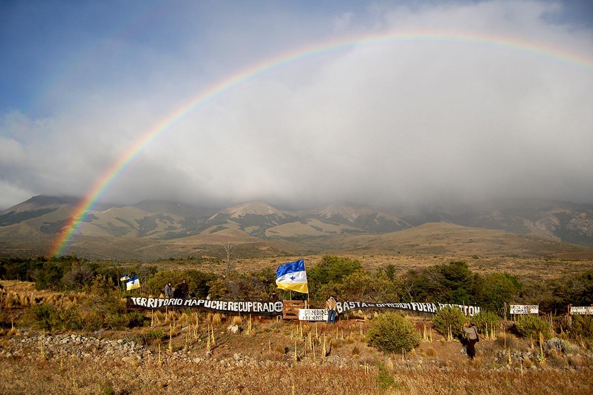 Mapuches recuperan su territorio