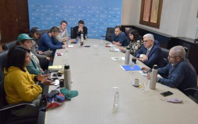 La Mesa Agroalimentaria Argentina se reunió con el ministro de Agricultura Julián Domínguez