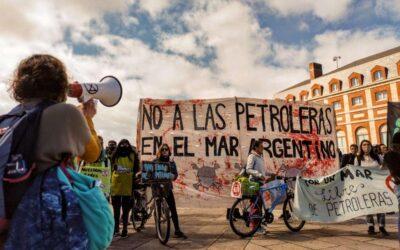 Para que las petroleras no se apropien del Mar Argentino